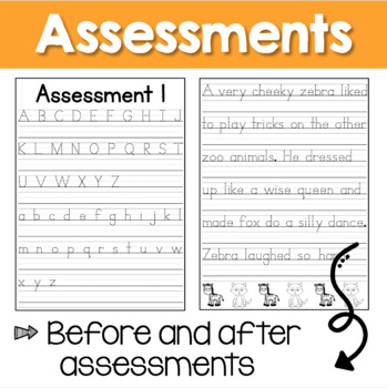 handwriting practice sheets by lightbulb moments learning tpt. Black Bedroom Furniture Sets. Home Design Ideas