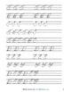 Handwriting Practice Sheets: Cursive