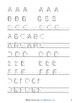Handwriting Practice Sheets: Print