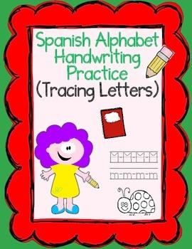 Dual Language El alfabeto:  Handwriting Practice A-Z