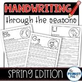 Handwriting Practice: Spring Edition