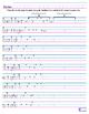 Handwriting Practice - Third Grade Sight Words