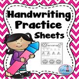 Handwriting Practice ( Uppercase)