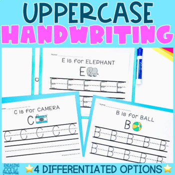 Handwriting Practice: Uppercase Letters