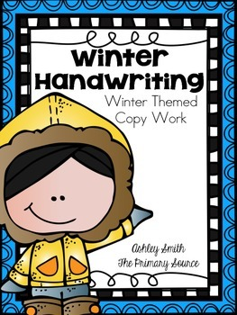 Handwriting Practice - Winter Edition