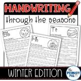 Handwriting Practice: Winter Edition