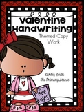 Handwriting Practice - Winter Holiday Edition FREE Sample