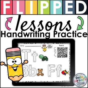 Handwriting Practice With Flipped Lessons