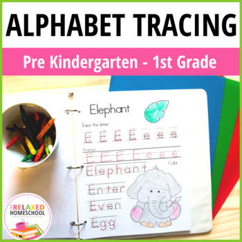 Alphabet Tracing and Handwriting Lesson Pack