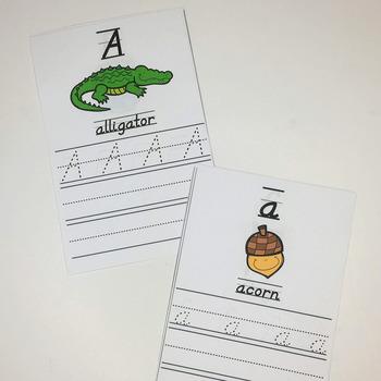 Handwriting Practice- Write and Wipe, D'nealian
