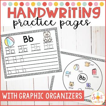 Handwriting Practice and Letter Circle Maps