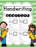 Handwriting Practice and Letter Recognition