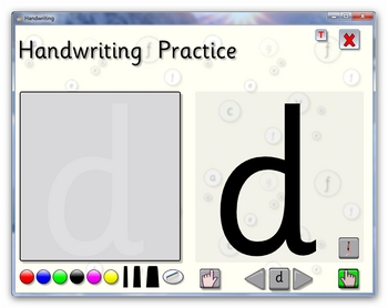 Handwriting Practice for IWB