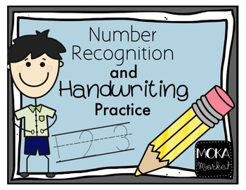 Handwriting Practice for Numbers 0-9