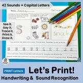 Handwriting Practice for Primary Grades - Practice 42 Lett