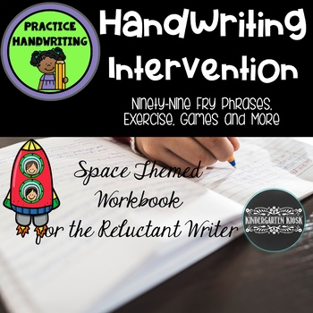 Handwriting Practice for Reluctant Writers