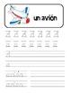 Handwriting Practice in D'Nealian alfabeto