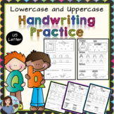 Handwriting Practice for Lower and Uppercase Letters