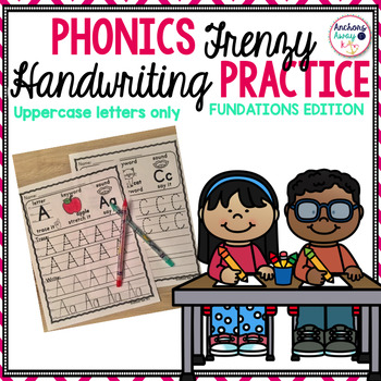 Handwriting Practice - uppercase letters