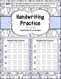Handwriting Practice with Lowercase & Uppercase Letters FULL VERSION (24 pages)