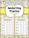 Handwriting Practice with Lowercase & Uppercase Letters LIMITED VERSION 12 pages