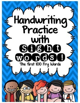 Handwriting Practice with Sight Words