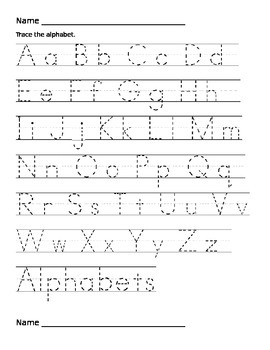 Handwriting Practie