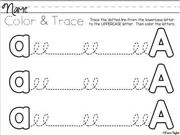 Handwriting Preparation Printables