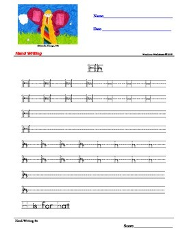 Handwriting Print Worksheets - Wondrous Worksheets