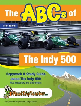 Handwriting Printables: Indy 500