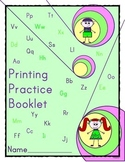 Handwriting - Printing Practice Booklet For Students