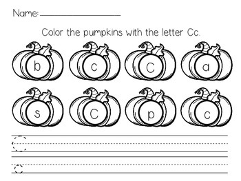 Handwriting Pumpkins