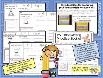 Handwriting Resource {Printing Uppercase and Lowercase Letters}