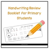 Handwriting Review Booklet for Primary Students