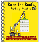 Handwriting Practice 3rd & 4th grade: Handwriting-Without-