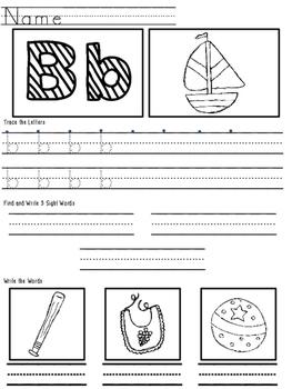 Handwriting Review Worksheets