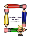 Handwriting Rubric