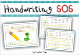 Handwriting SOS - Letter Size Differentiation