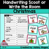 Handwriting Scoot - Christmas Edition