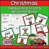 Christmas Handwriting Scoot or Write the Room