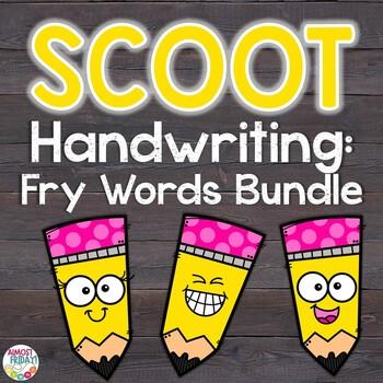 Handwriting Scoot Game