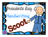 #presidentsdaydeals Handwriting Scoot - President's Day