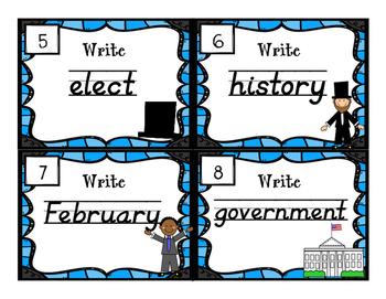 #presidentsdaydeals Handwriting Scoot - President's Day