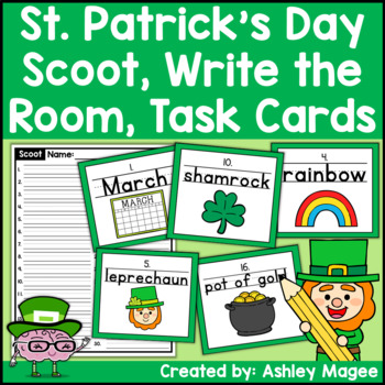 St. Patrick's Day Handwriting Scoot or Write the Room