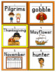 Thanksgiving Handwriting Scoot or Write the Room