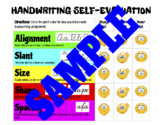 Handwriting Self-Evaluation Rubric