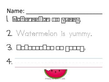 The Ultimate in Handwriting & Sentence Work Practice MEGA Bundle