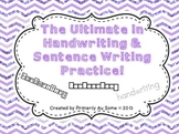 The Ultimate in Handwriting & Sentence Work Practice MEGA Bundle