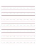 Handwriting Sheet