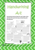 Handwriting Sheets A-Z